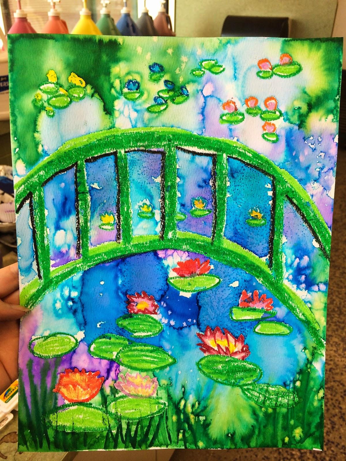 Smart Class Claude Monet S Garden 1st Grade